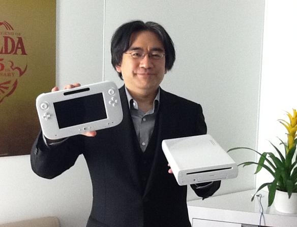 Satoru Iwata communique sur la Wii U Iwata-wii-u