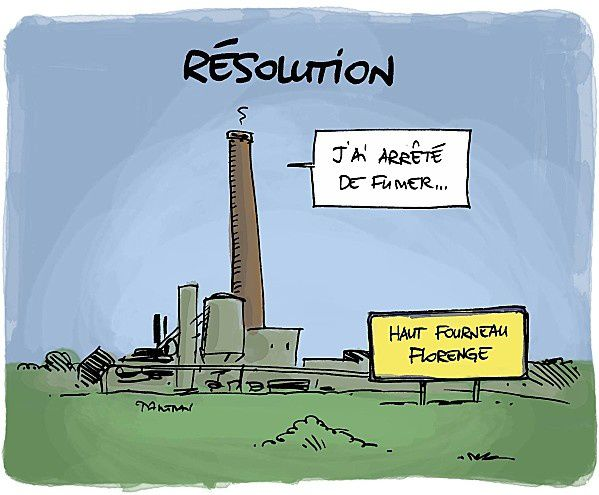[Humour] Blagues, images, videos ... - Page 11 Bonne-resolution-humour-annee-2013-dessin-florange-mittal-