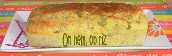 Cake au thon, artichaut et olives vertes Cake-thon--artichaut--olives1
