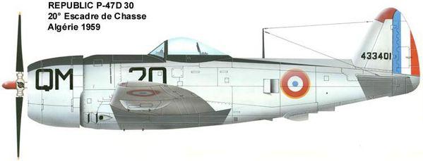 Pouvez-vous m'en dire plus sur ces 2 photos ? P-47D