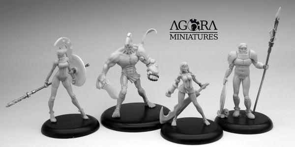 Agora Miniatures Agora-Unit-05