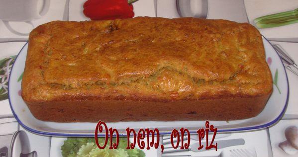 Cake de poulet tandoori Cake-poulet-tandoori1