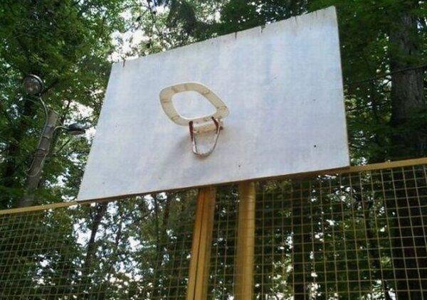 Humore montazhi dhe foto tjera humoristike - Faqe 2 Moyen-du-bord-pannier-basket