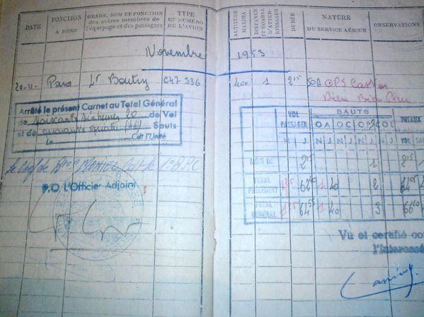 Adjudant Lionel Cassiède OPS-CASTOR-DBP-NOV-1953-copie-1
