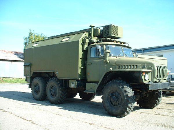 Faire des enjoliveurs de camion ? Ural-4320