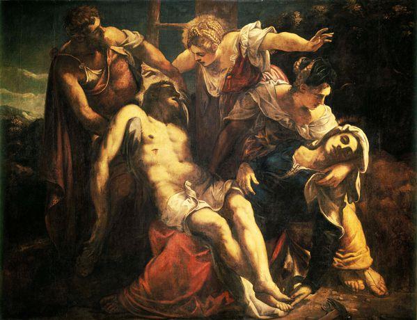 Princ. fond. de l'histoire de l'art - Heinrich Wölfflin Tintoret_Deploration_Venise400