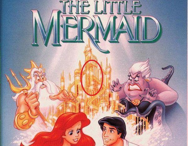 Disney : Messages subliminaux sexuels et sataniques  Merdemaid