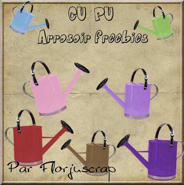 CU/PU arrosoirs multicolores Preview-arrosoirs