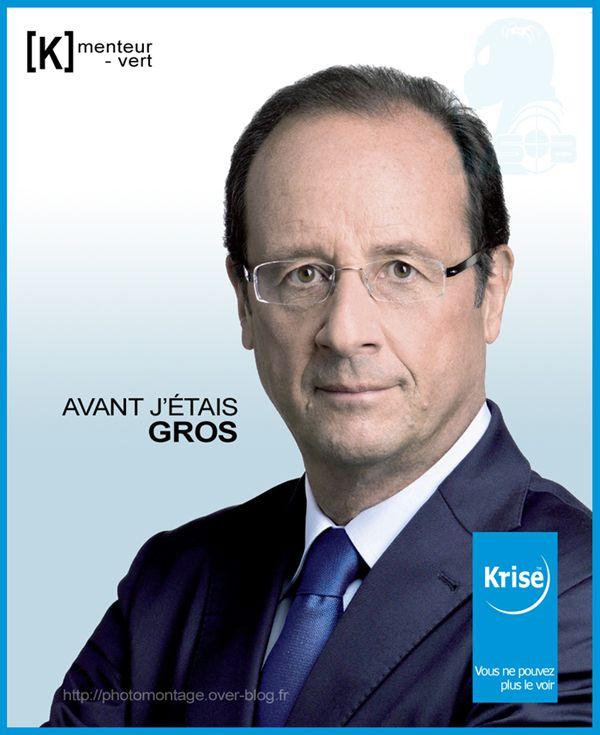 La vie d'Internet  - Page 3 Affiche-Francois-Hollande-Krys-fake-parodie-sblesniper-600