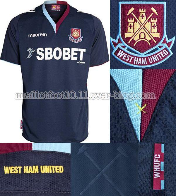 maillot 2012-13 West-ham-away-kit-2012-2013