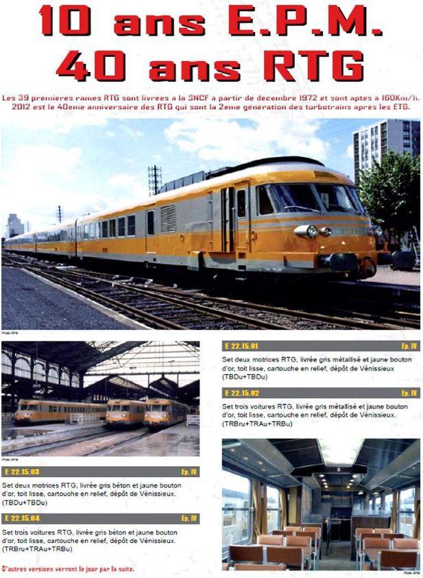 Samedi 15 octobre 2011 - en 1971 252km/h avec un TurboTrain Turbotrain-L.S.Models