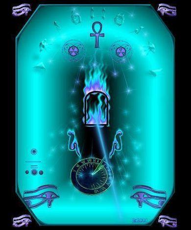Simbolet hermetike Blueshaft
