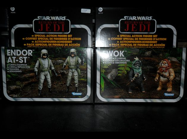 Collection n°182: janosolo kenner hasbro Endor-equipage-at-st-et-ewok-scouts