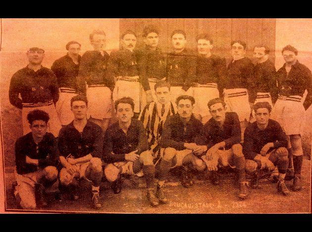 Photos équipes BTS du passé Boucau-Stade-21-2-1925