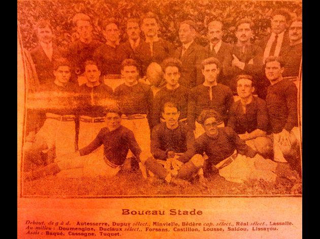 Photos équipes BTS du passé Boucau-Stade-27-1-1923