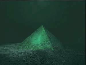 Pyramides de verre dans les bermudes Pyra