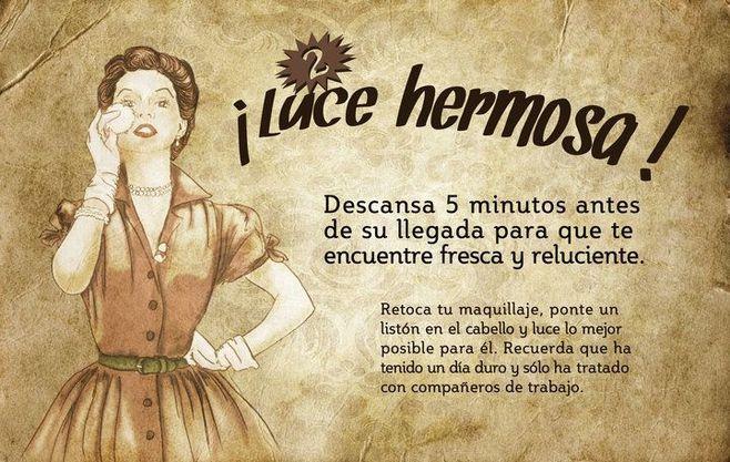 Guía de la buena esposa - Año 1956 - Cuanto menos, curioso e impactante. -cid_B79C33EA0F1D45FAB51631F884642528-usuario