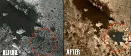 Une maman sur Mars et les autres découvertes sur Mars - Page 6 Gale-Crater