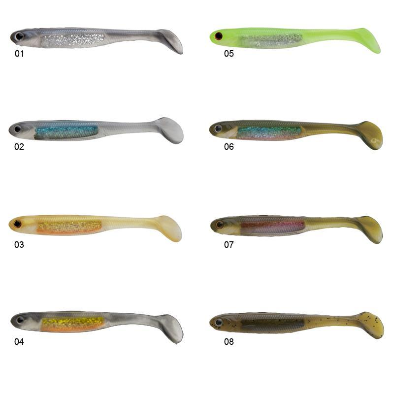 Avis sur le NORIES SPOON TAIL SHAD Leurre-souple-nories-spoon-tail-shad-13cm-pack-de-5-z-746-74657