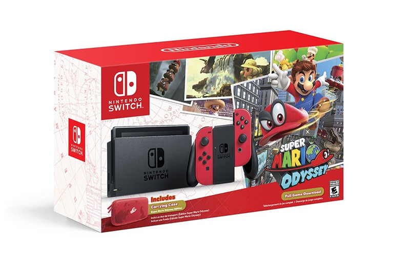 Super Mario Odyssey - Nintendo Switch Nintendo-switch-bundle-super-mario-odyssey-1