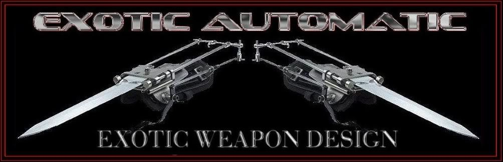 SINZA - Exotic Automatic -Exotic Weapon Design & Construction
