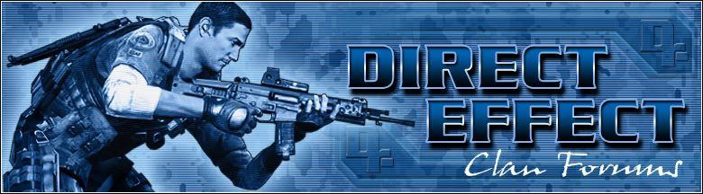 Direct Effect Clan Forums