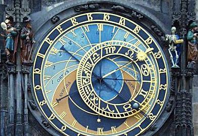 Prague: L'horloge médiévale retarde à cause de la chaleur Orloj_smrtka1
