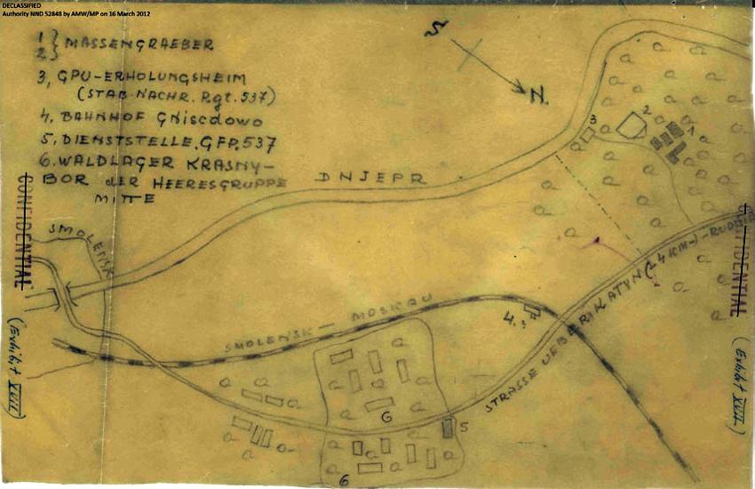 Катынские сувениры в 1942 году - Страница 2 Map-exhibit850