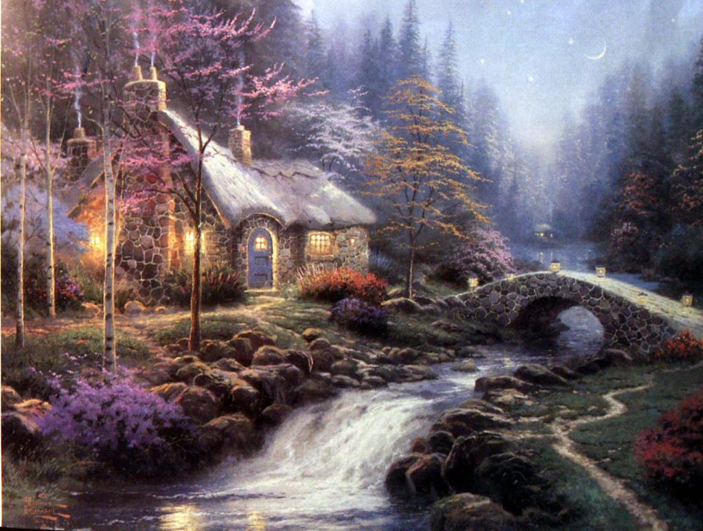 لوحات فنية تحكي عن الطبيعة 48692