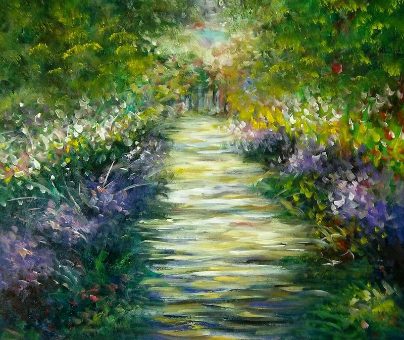 لوحات فنية تحكي عن الطبيعة 48696