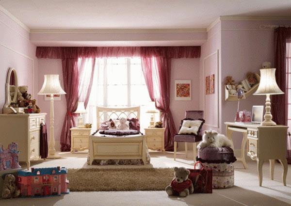 غرف نوم رائعة للبنات غرف نوم بنات فخمة وانيقة 2014 271916