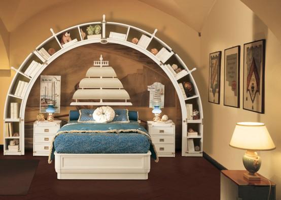 تصاميم غريبة لكن انيقة لغرف النوم  297481