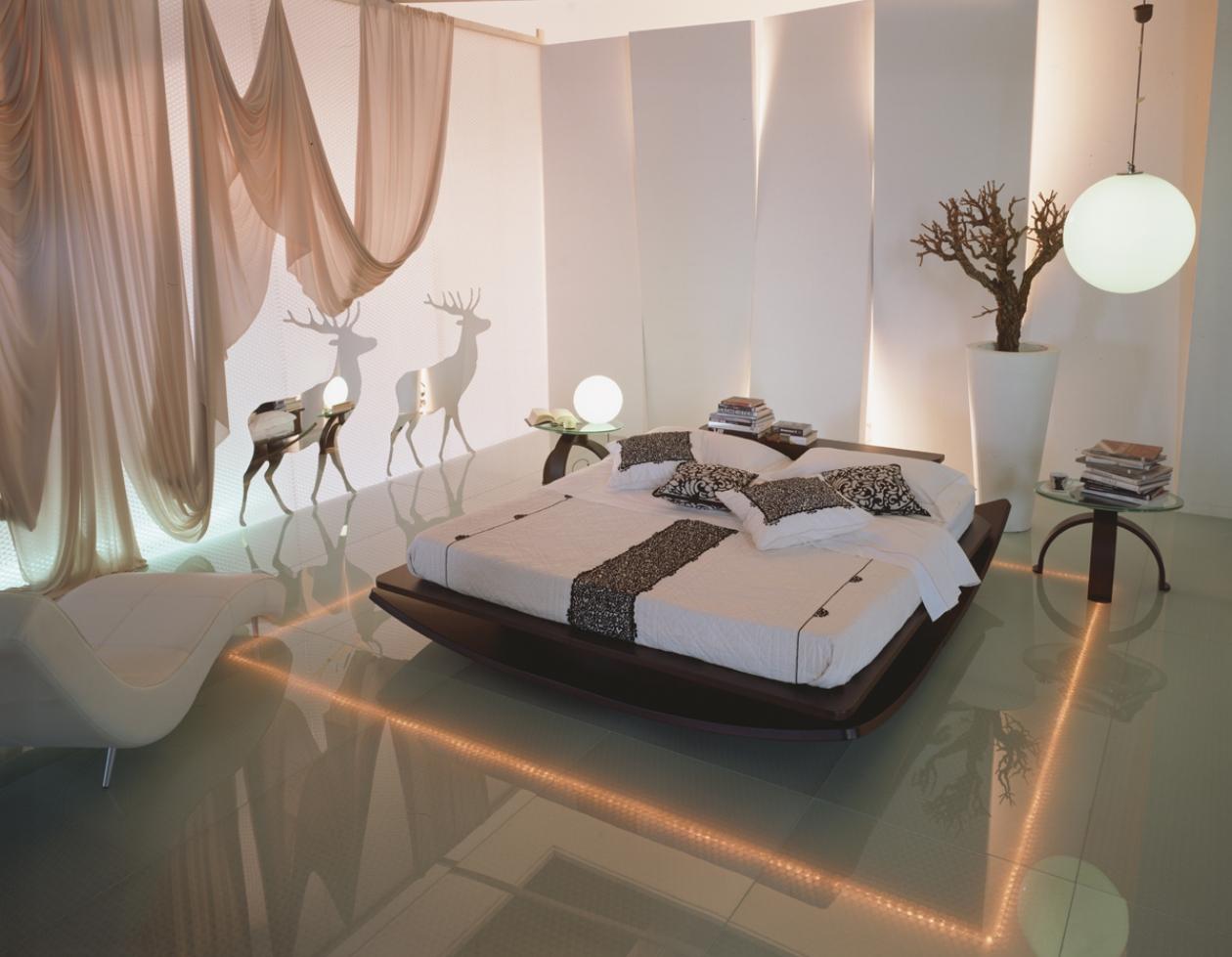 تصاميم غريبة لكن انيقة لغرف النوم  297486