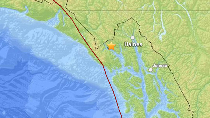 5.7 Magnitude Earthquake Hits Alaska – 4 June 2014 Map_copy.si