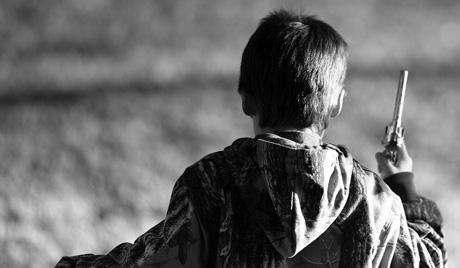 Скачки на Граблях. В США ребёнок застрелил свою мать! 690256