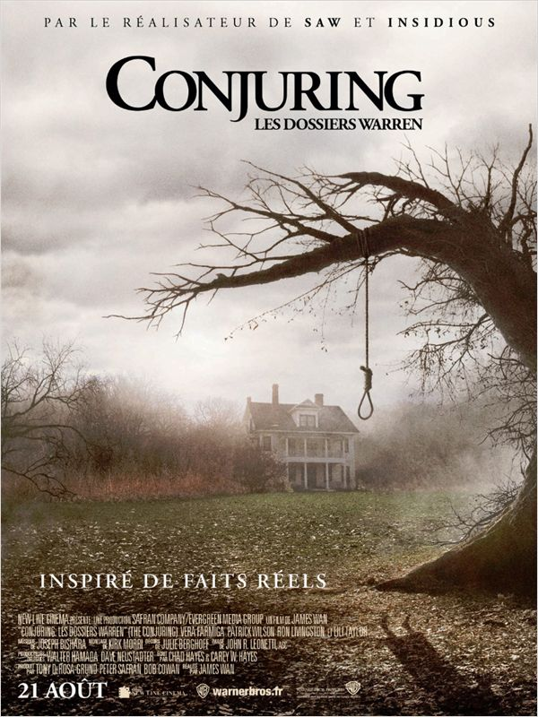 Conjuring : Les dossiers Warren Affich_25519_1