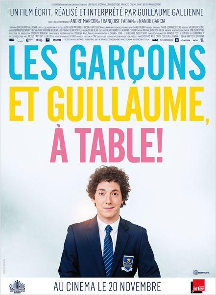 Les garçons et Guillaume, à table ! Affich_25571_1