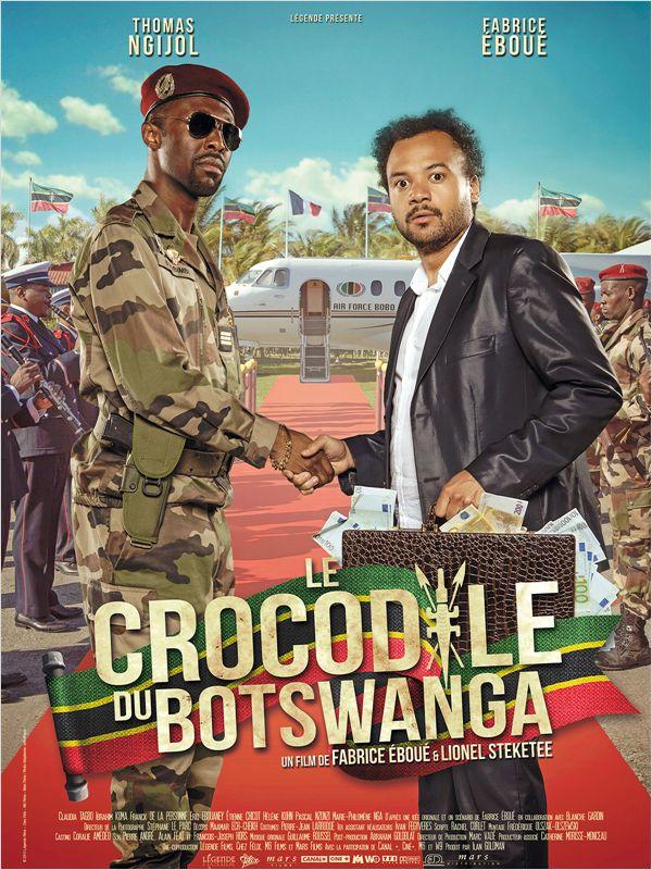 Le Crocodile du Botswanga Affich_28615_1