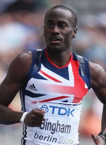 Former USA athlete now happy running 400's for UK World-Athletics-Championships-Berlin-Michael-_2349814
