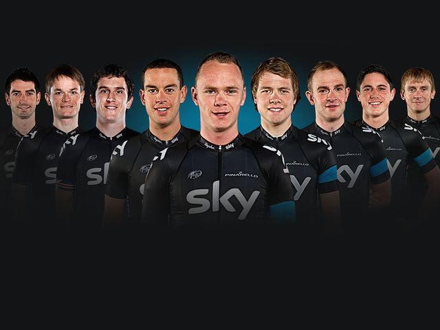 Team SKY PROCYCLING - Страница 21 Team-Sky-Tour-de-France-line-up_2961381