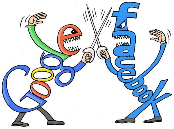 Google bloqueia dados ao Facebook 090114_GoogleFacebook