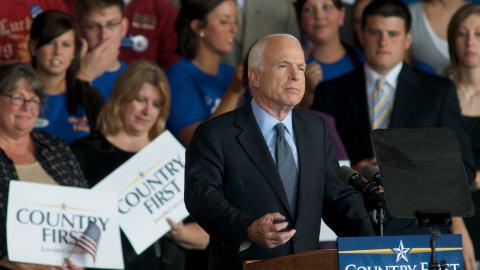 McCain provoque un tolle en espagne AFP_080919mccain_iowa_8