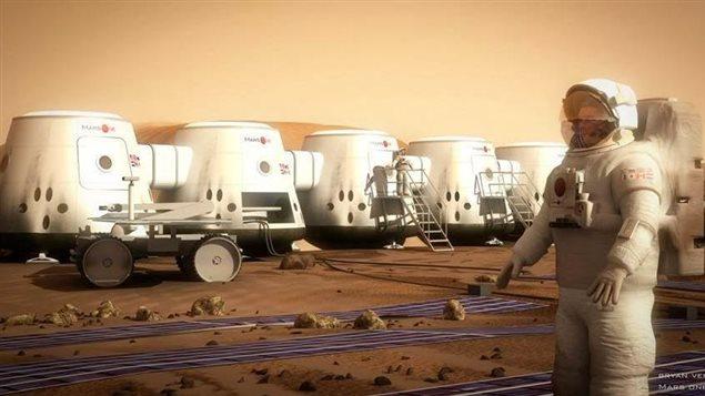 Mars One : Une mission aller seulement sans possibilité de retour ! 140110_2e7en_mars-one-astronaute-habitation_sn635
