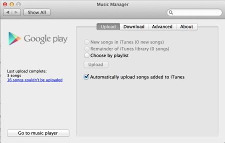 [TUTO] Comment synchroniser votre librairie iTunes avec votre appareil Android [22.01.2014] Google_Play_Music_Manager_Mac-450x286