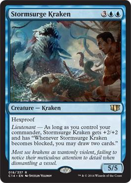 Commander 2014 StormsurgeKraken