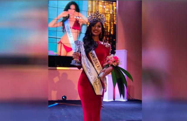 ¡Venezolana Lisandra Chirinos gana Miss Latinoamérica 2017! Ganadora-lisandrachirinos