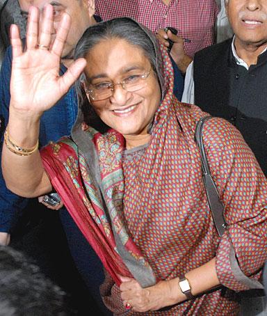 Sheikh Hasina Wajed - Bangladesh premier 0508_hasina
