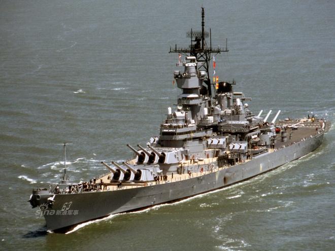 Ảnh đẹp : Chiếm hạm thiếp giáp mạnh nhất của hải quân Mỹ Zing_iowa_11