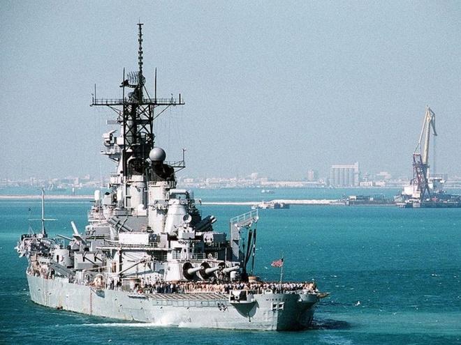 Ảnh đẹp : Chiếm hạm thiếp giáp mạnh nhất của hải quân Mỹ Zing_iowa_12