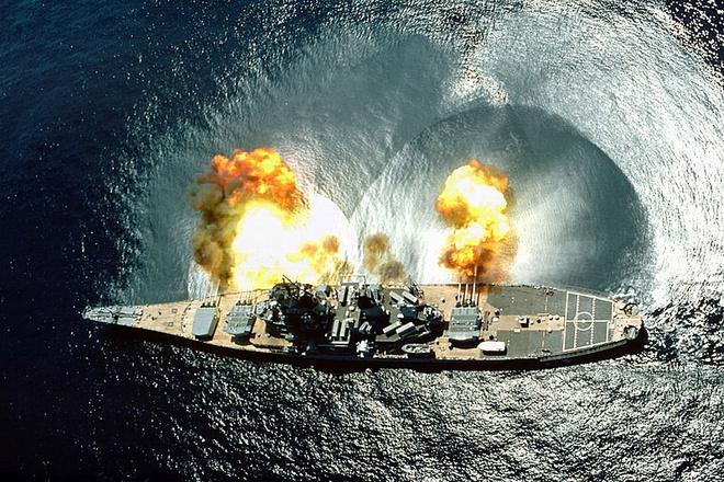 Ảnh đẹp : Chiếm hạm thiếp giáp mạnh nhất của hải quân Mỹ Zing_iowa_13